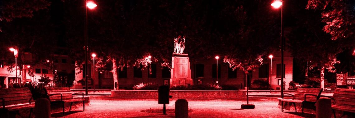 piazza caduti rossa